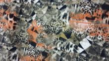 Tricot bedrukt polyester