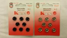 Aannaai drukkers No.3 10mm en No.2 8mm